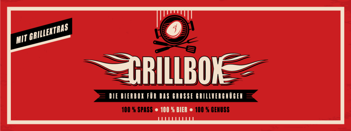 Grillbox im Retro-Design
